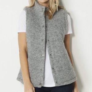 NWT BB Dakota Aderyn Wool Blend Puffer Vest
